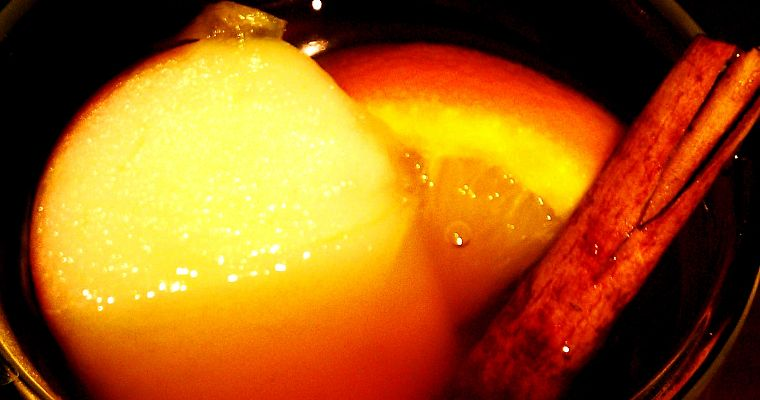 Grzany cydr – mulled cider