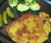 Kotlet schabowy (obiad)