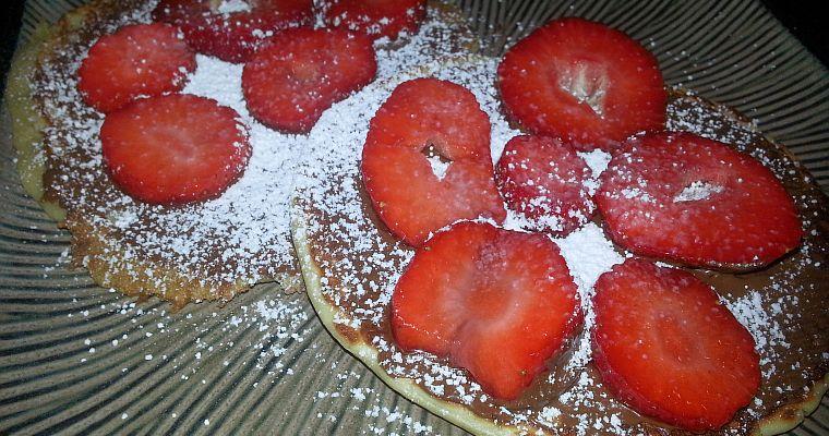 Placuszki bananowe (a la pan cake)