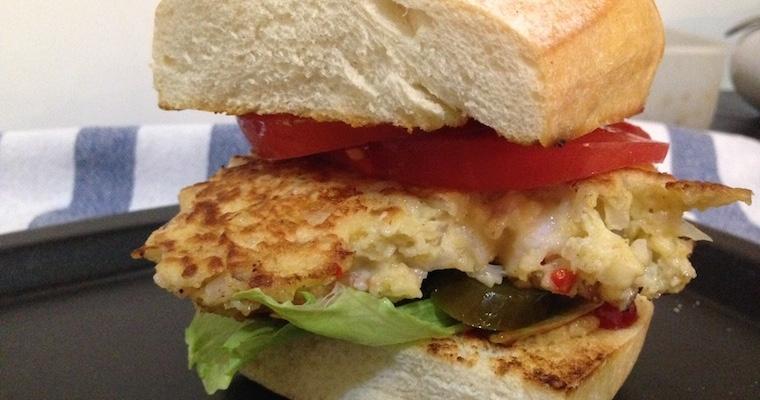 Krewetkowy burger