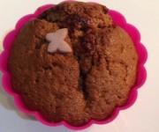 Muffinki mocno czekoladowe bez mleka