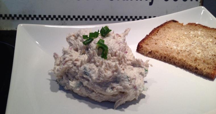 Pasta z makreli (z twarogiem półtłustym)