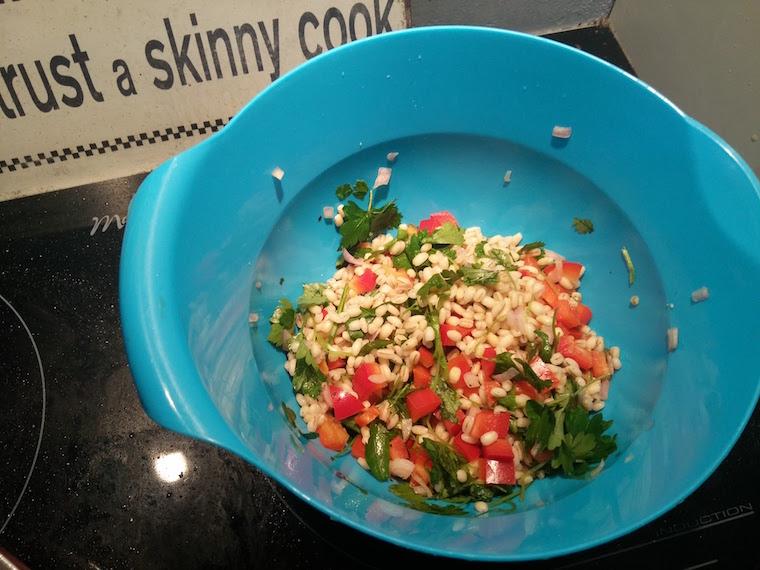 kasza-peczak-kolendra-warzywa