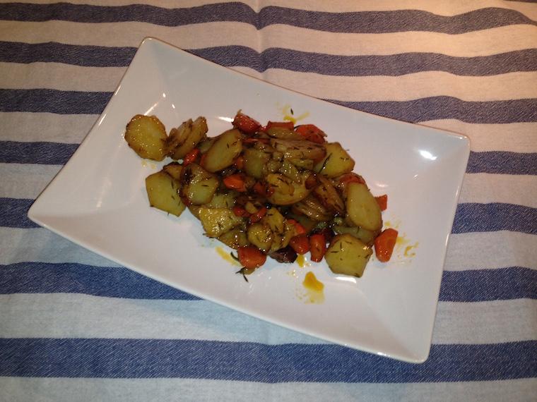 ziemniaki-z-marchewka-pieczone