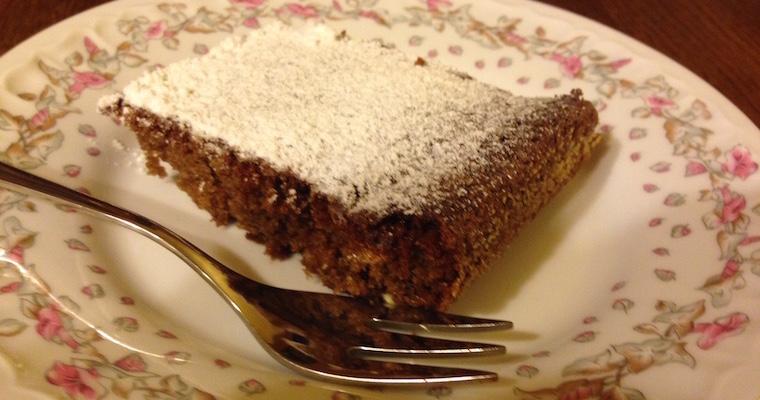 Proste ciasto czekoladowe (z Nutellą)