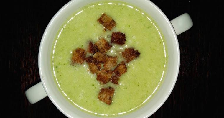 Zupa krem z białych szparagów