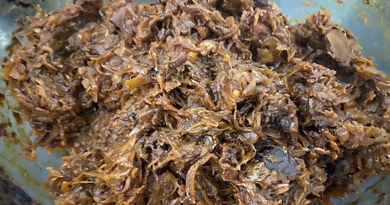 Bigos staropolski z piekarnika – wegański (bez mięsa)